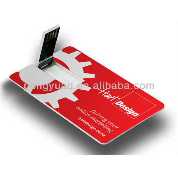 Top selling promotional usb business card with custom logo , best gifts business card usb flash drive 1gb-16gb (PY-U-157)
