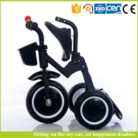Low price kids trike price / kids tricycle factory / child stroller trike can fold
