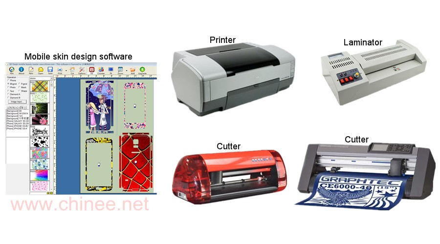 Daqin mobile phone sticker machines-www.chinee.net.jpg