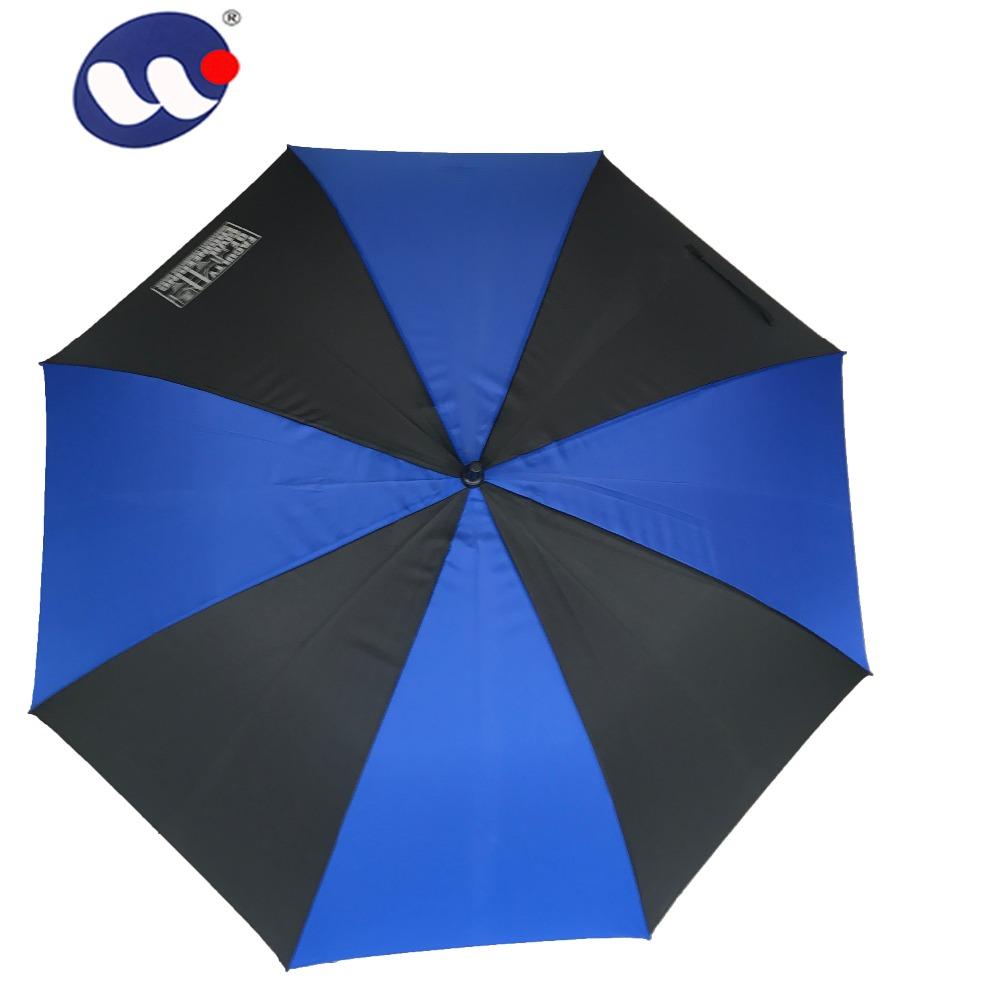 Weideng 2017 whole fiberglass customized advertising golf umbrella