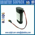 Alibaba best price lipo battery 3.6v 5200mah , lithium ion battery pack ,for led customized