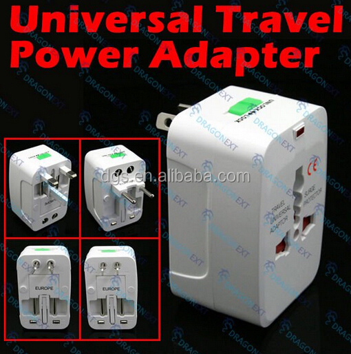 Universal Travel Adapter US AU UK to EU Plug Travel Wall Socket Converter AC Power Adapter