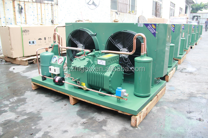 20HP Bitzer Compressor Blast Freezer Air Cooled Condensing unit for Cold Room