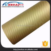 Full Body Car Stickers 1.52 * 30m 3D Carbon Fiber Vinyl Carbon Fibre Wrap Vinyl