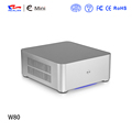 Big promotion mini itx aluminum with 120w dc board and 3pin fan