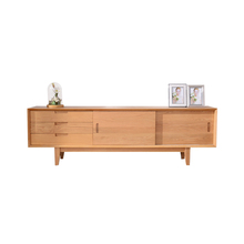 New Model Oak Burlywood Modern Wooden Tv Furniture Tv Stand Pictures
