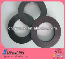 permanent ring shaped anisotropic magnetic material coil