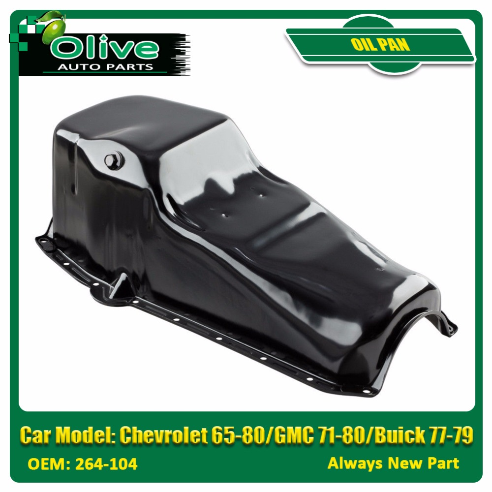 Engine Oil Pan For Chevrolet 65-80/GMC 71-80/Buick 77-79 V8 5.7L 6.6L 465221 264-104 GMP08A 264104 501094 308135