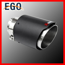 Universal Carbon Fiber Exhaust Tip Pipes Muffler AKRAPOVIC Exhaust Tip 63mm To 101mm
