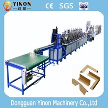 V Shape + Right Angle Cardboard Corner Protective Making Machine