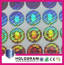 Hologram security sticker,florida id hologram,3m reflective sticker