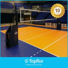 Hot sale Leather surface volleyball court floor