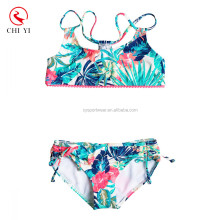 2017 Wholesale Custom Cute Fashion Good Quality Swimwear Swim Wear Suits kids Bikini For Girls
