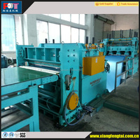 Metal/Steel strip/steel coil straightening and cut to length line/cut to length machine