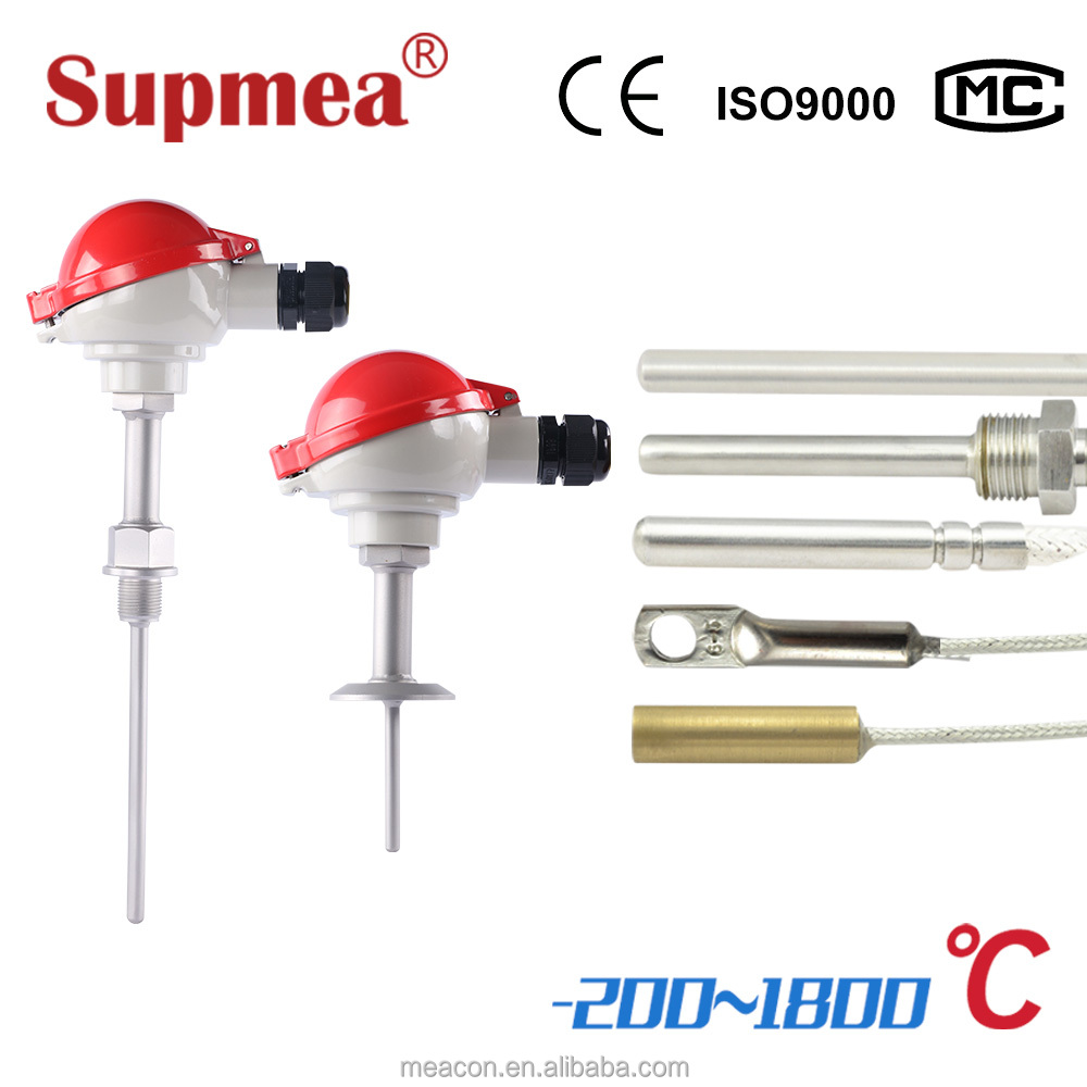 4-20mA smart pt100 temperature transmitter with RTD sensor