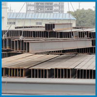 EN ST50 MS Steel H Beams for Fabricated Hollow Building Structure or Machinery Bracket