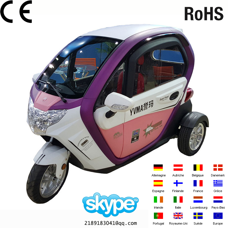 2017 new product three wheels scooter Electric tricycle/motor tricycle(Discount)2016 most popular 3 Wheels electric scooter