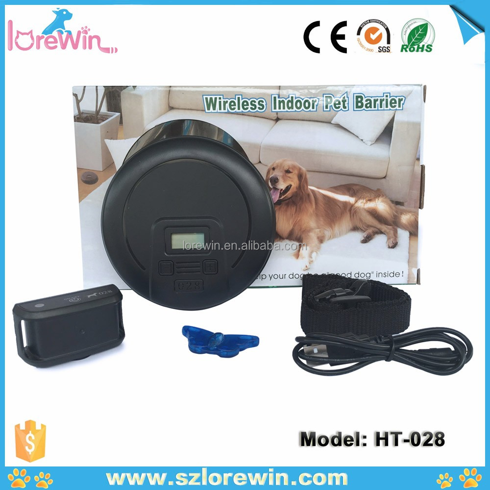 LoreWin <strong>HT</strong>-028 Indoor Wireless Electric Fence For Large Dogs