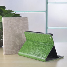 13005 Alligator imitation PU leather case for mini ipad