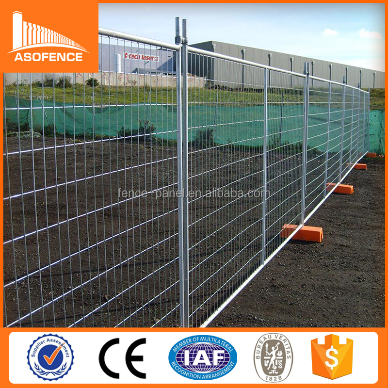 Cheap galvanized Portable outdoor temporary privacy fencing