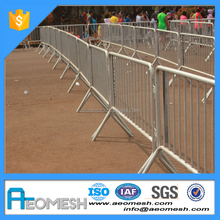Lightweight Modular Crowd Control Systems, Metal Road fences/Barricades