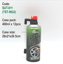 400 ml bicycle tyre fix sealant with Aluminum cans