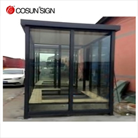Cheap and environmental Smoking cabin, customized porta cabin