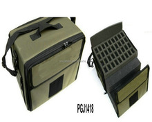 waterproof nylon tool bag with different Removable Diced Foam inside and embroidery logo