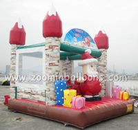 Good quality inflatable bouncer house for christmas decorations Z1012