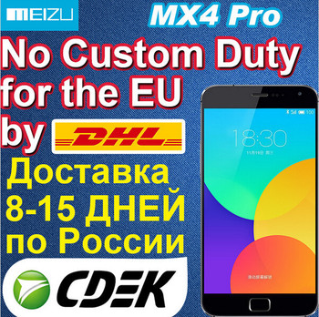 Original Meizu MX4 Pro 4G FDD LTE Mobile phone international sales