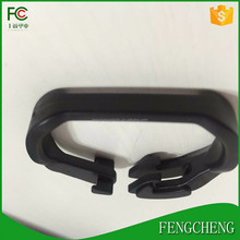 uv stabilized shade fabric fastener clamp plastic clips
