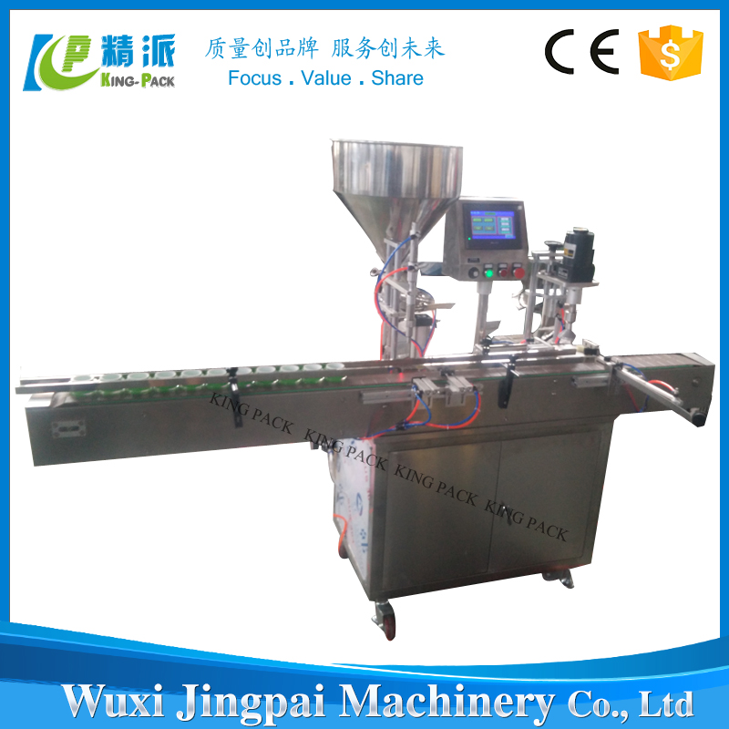 Cosmetic Industrial Need Semi Auto Filling Capping Machine