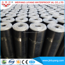 Self Adhesive Polymer Modified Bitumen Waterproof Membrane with polyester felt reinforcement