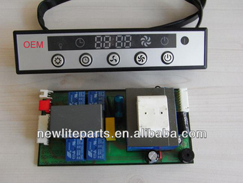 Range hood control switch (with remote control), Cooker hood touch switch