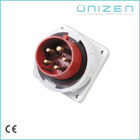 UNIZEN Online Selling VDE Approved Male To Male Electrical Plug Insert Bracket Adapter