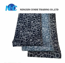 Hot sale Jacquard denim fabric for denim jeans women made in China