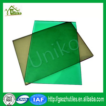 GE lexan uv blocking plastic soundproof anti-drop fire proof panel solar
