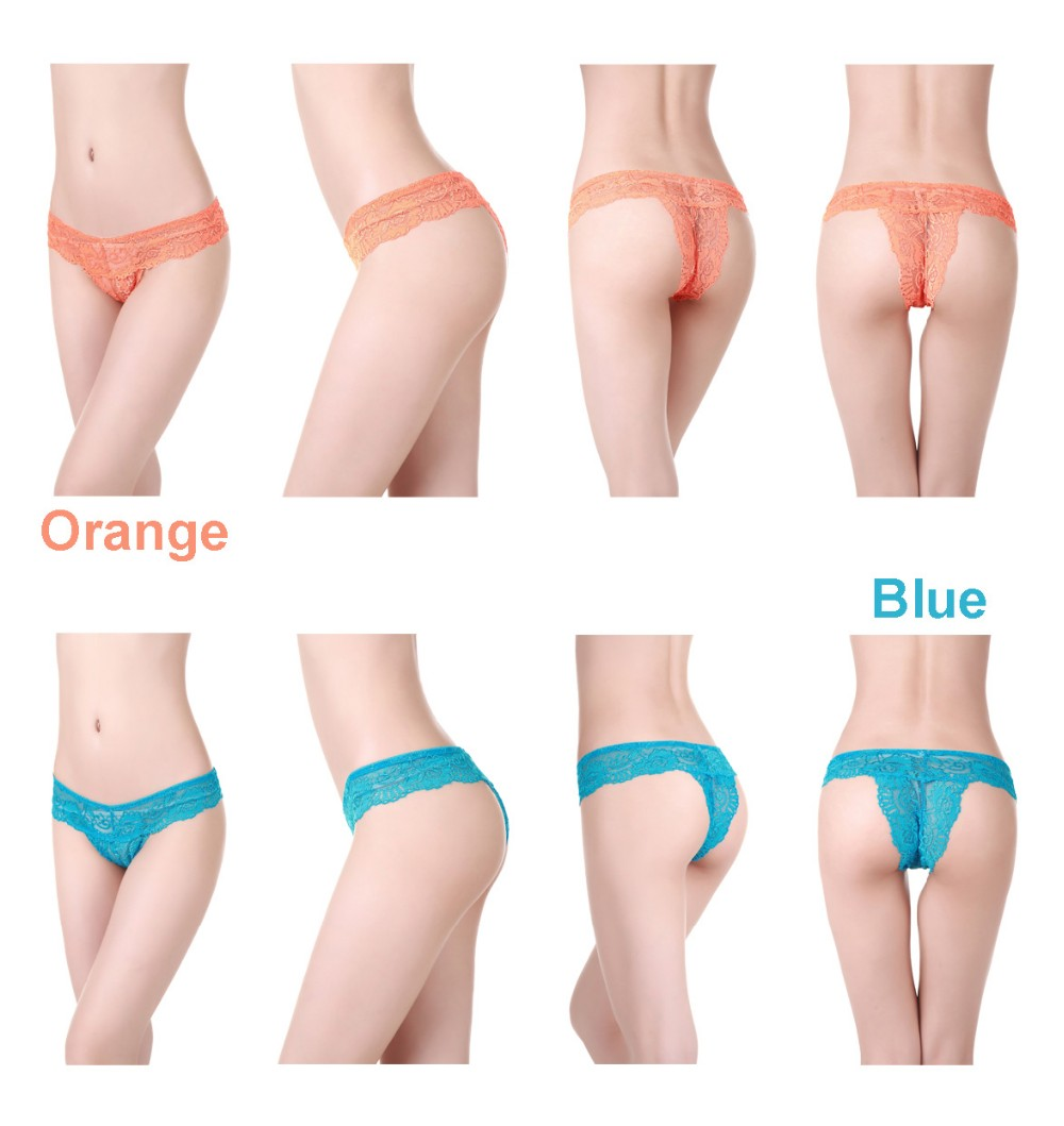 Very Nice Bright 12 Colors Packed Hot Women Thong Panties S M L For Sexy Market
