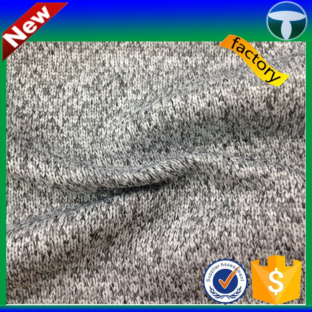 wholesale polyester french terry fleece hoodie fabric