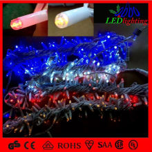 120V 70L White Wire LED M5 Christmas String Lights for holiday decoration