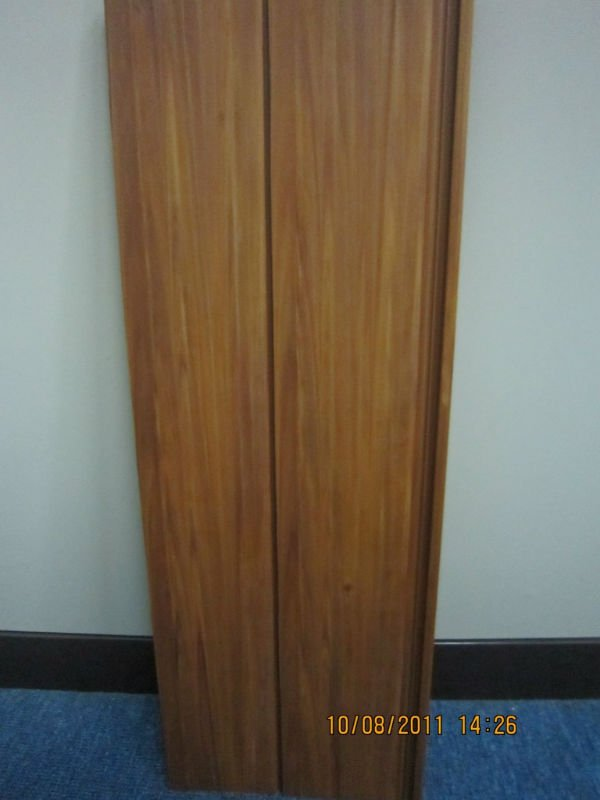 Golden Teak Wood Look PVC Ceiling Panel