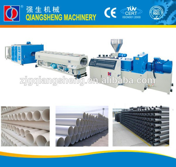 8 inch PVC drain pipe extrusion machine