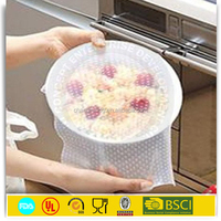 polyethylene film fresh keeping silicone pe stretch film for food wrap