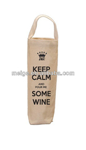 wine glass carrier bag