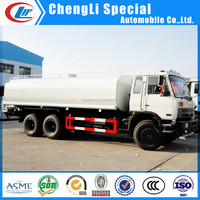 Dongfeng mobile watering cart, 20000L watering cart, 10 tires water delivery truck for sale