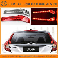 New Arrival Super Quality Rear LED Column Light for Honda Fit Jazz Waterproof LED Tail Lamp for Honda Jazz Fit 2014 2015