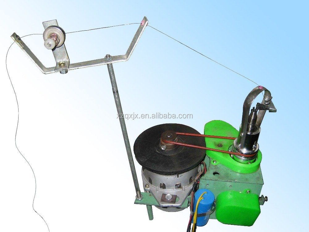 single head knitting machine for simple rope