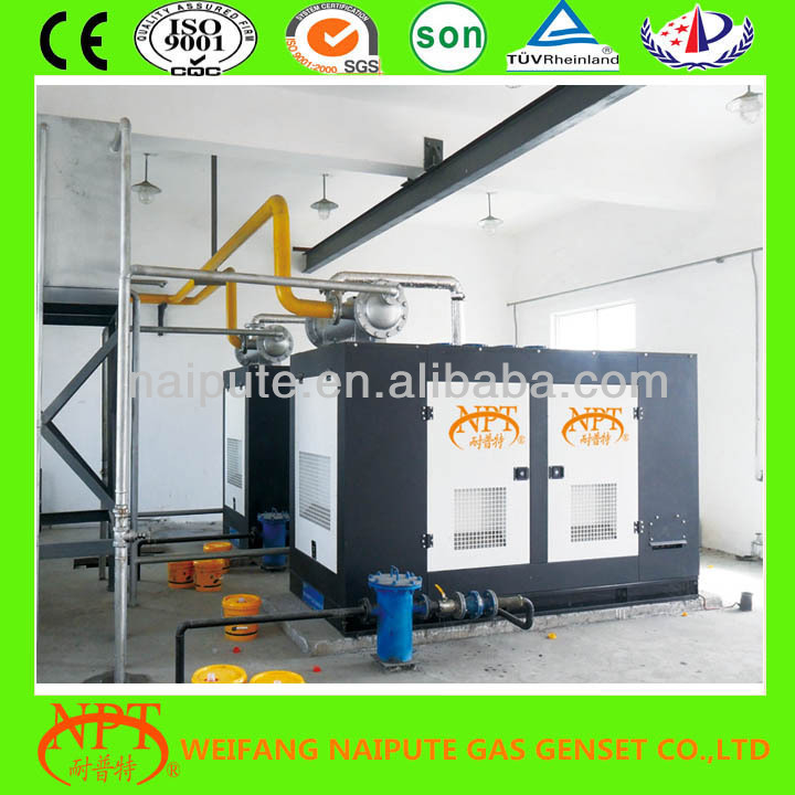 CE approved oil field gas generator 5kw to 300kw
