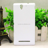 New arrive 3D sublimation blank cell phone case for sony C3
