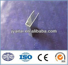 U type aluminium profile accessories